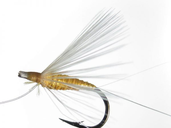 Mosca ahogada amarillo indio palometa cm 2
