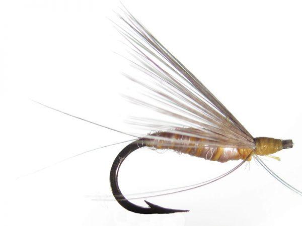 Mosca ahogada salmón claro indio cm 4
