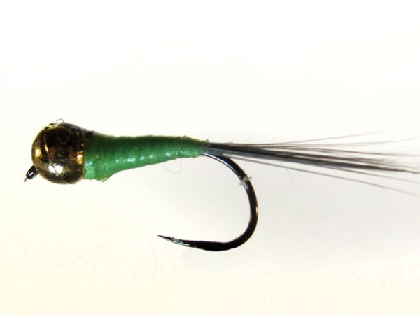 Ninfa perdigón cabeza dorada modelo 97 Verde claro Indio sin muerte