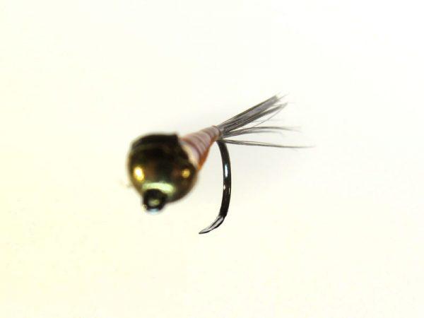 Ninfa perdigón cabeza dorada modelo 89 sin muerte