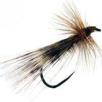 Tricóptero pavo real claro y plumad e gallo de León pardo acerado modelo 10