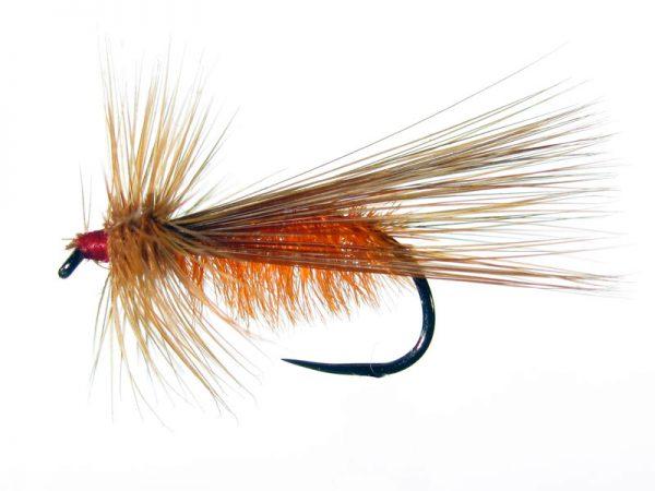 Tricóptero avestruz naranja y pluma de gallo de León indio rubión modelo 12
