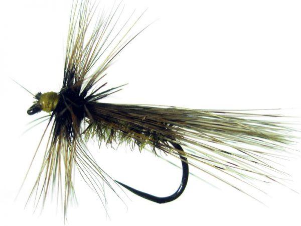ricóptero amarillo brinca pavo real y con tejadillo montado con pluma de gallo de León indio rubión