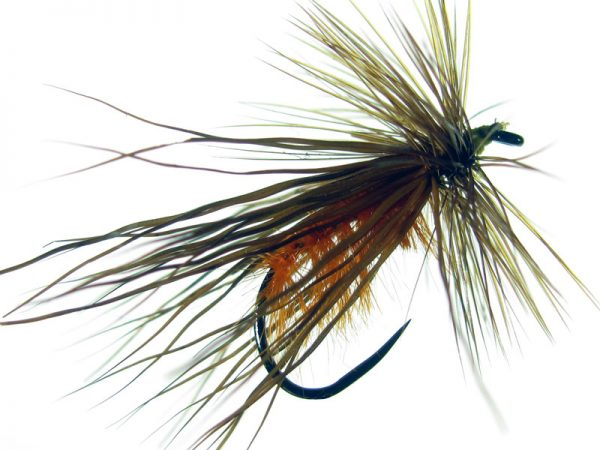 Tricóptero Avestruz naranja ciervo oscuro modelo 26