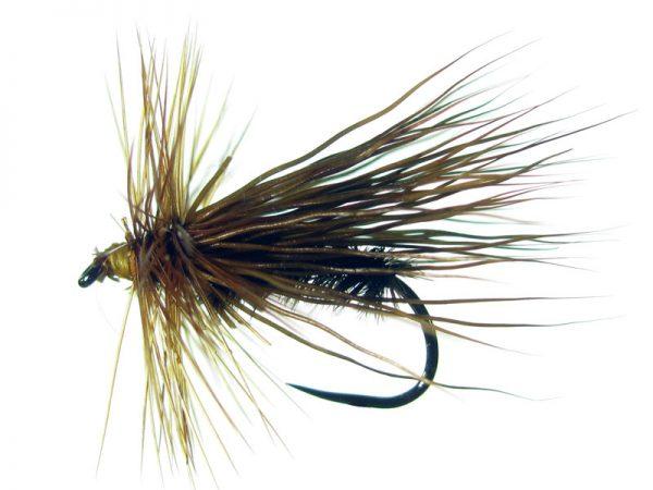 Tricóptero marrón oscuro y pelo de ciervo oscuro modelo 27