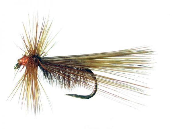 Tricóptero avestruz marrón claro y pluma de gallo de León indio rubión modelo 30