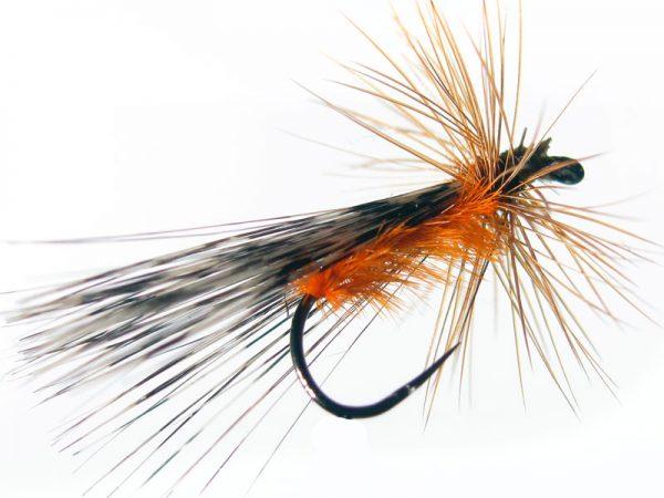tricóptero avestruz naranja pardo