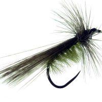Tricóptero sm avestruz verdoso y pluma de gallo de León Indio acerado modelo 34