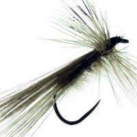 Tricóptero sm avestruz acerado y pluma de gallo de León Indio acerado modelo 35