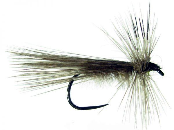 Tricóptero avestruz acerado y pluma de gallo de León Indio acerado modelo 35