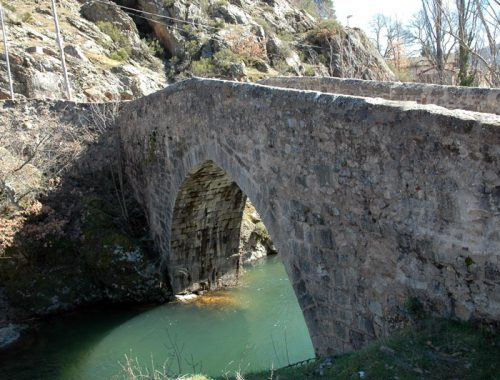 Coto de Valdepielago, Puente romano en Valfepiélago
